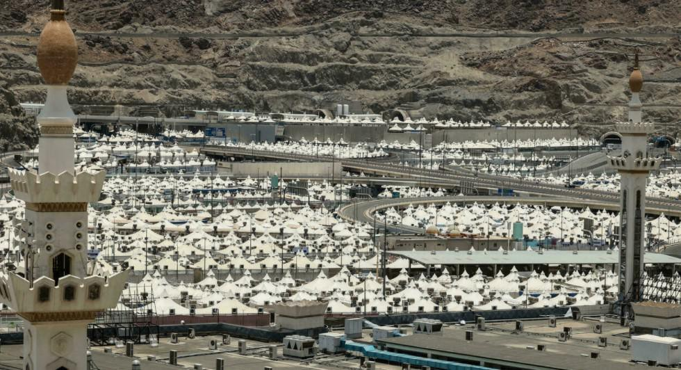 ثاني حج الى مكة بعدد محدود من المشاركين في زمن الجائحة