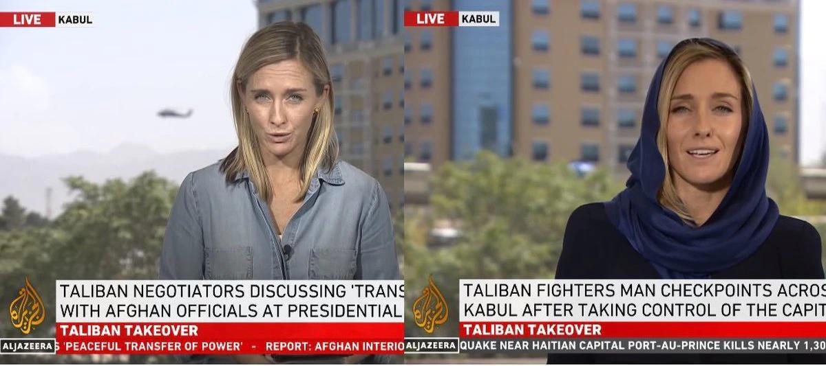 أفغانستان: تغيير ملحوظ في ملابس الصحافيات الغربيات بعد وصول طالبان