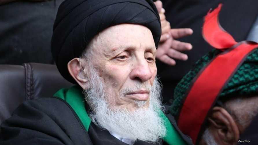 وفاة المرجع الشيعي البارز محمد سعيد الحكيم إثر أزمة قلبية في النجف