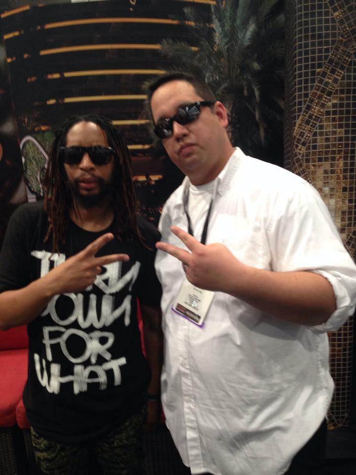 Roger Rader with Lil Jon
