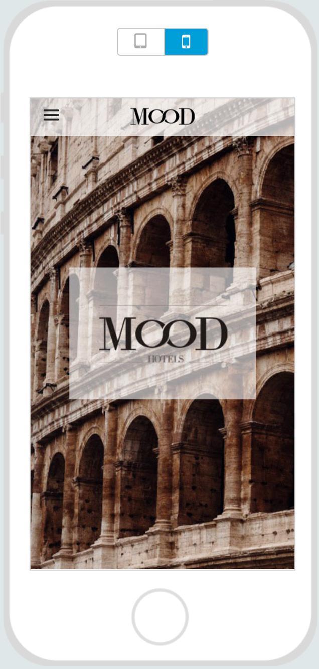 "App ""Mood Hotel Rome"""