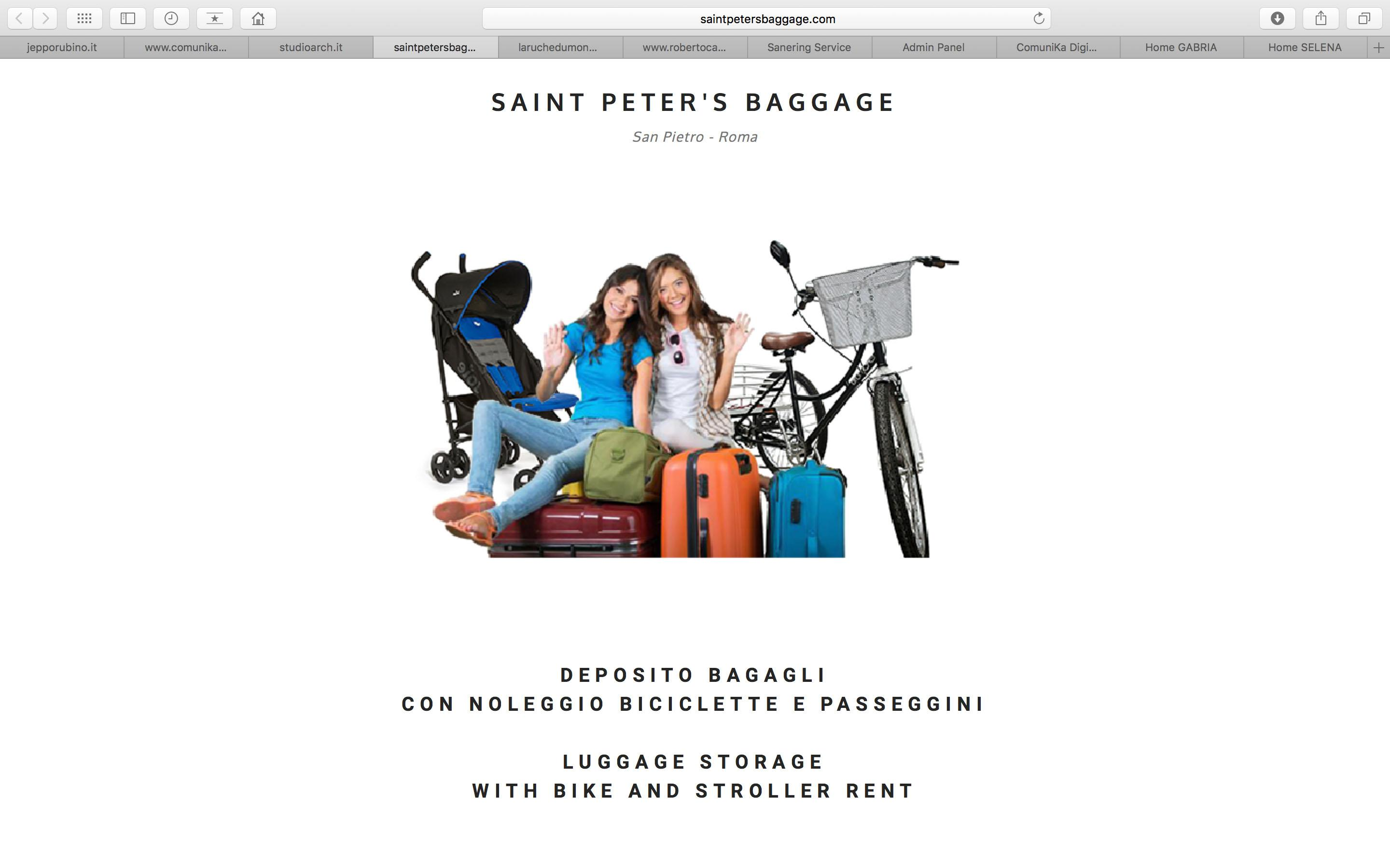 "Sito ""Saint Peter's Baggage"""