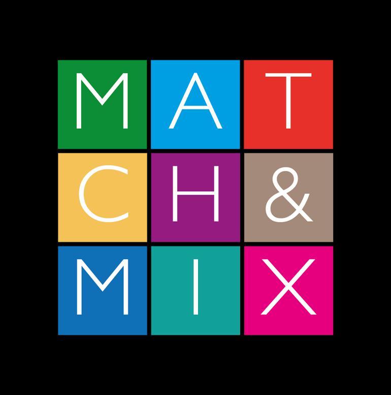 "LOGO ""MATCH AND MIX"