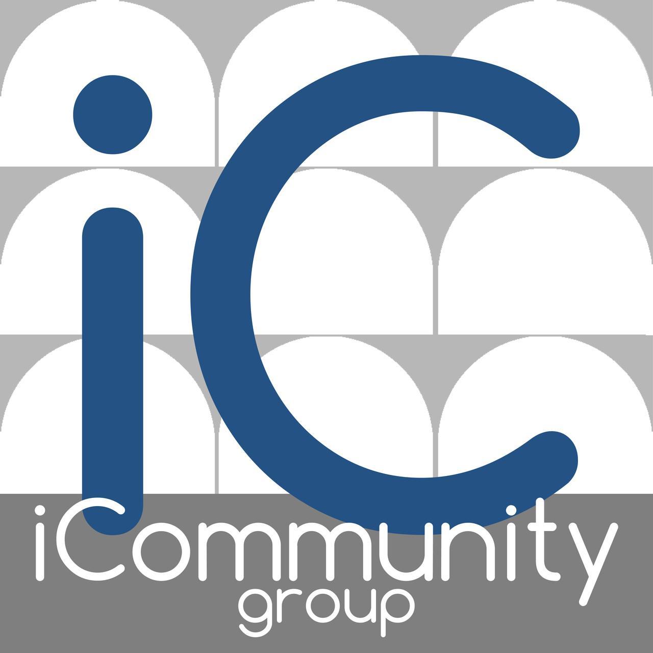 """Logo icona App """"iCommunity"""""""