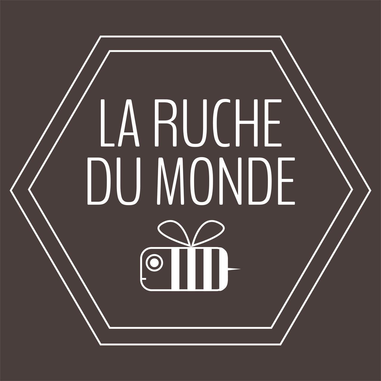 "Logo icona App ""La Ruche du Monde"" Dakar"