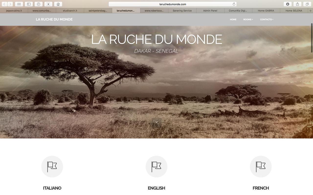 """Sito """"La Ruche du Monde"""""""