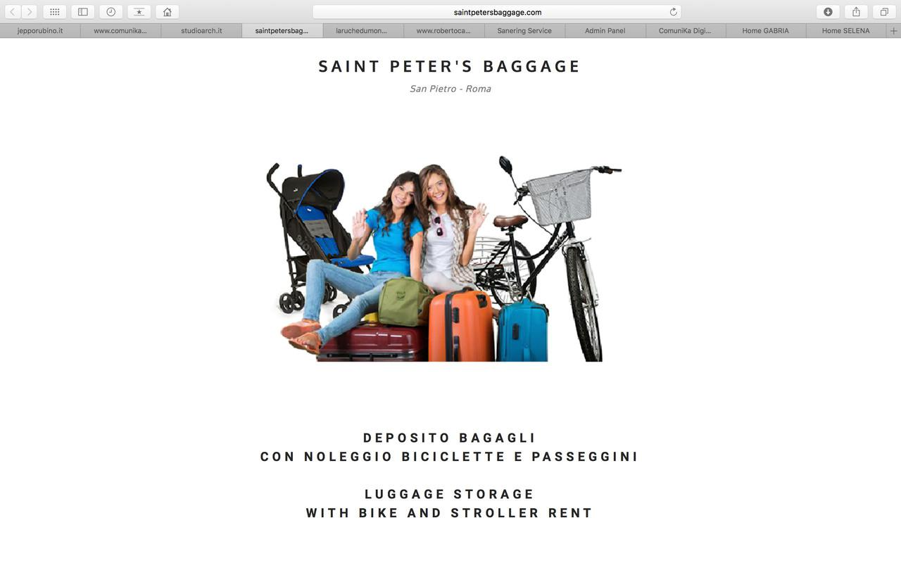 """Sito """"Saint Peter's Baggage"""""""
