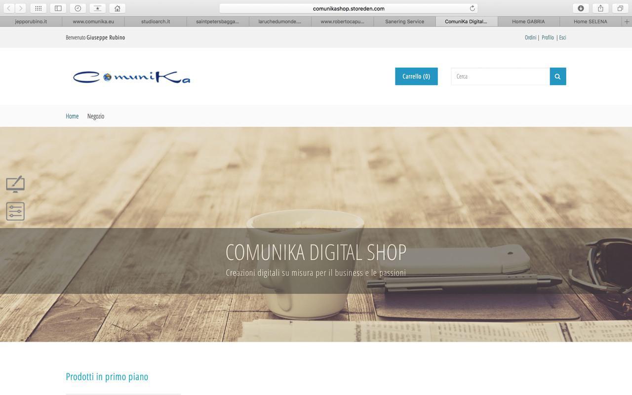 "E-Commerce ""ComuniKa Digital Shop"""