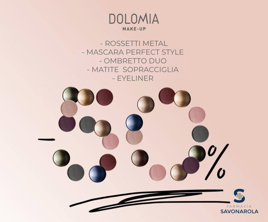 Promo Dolomia Make Up