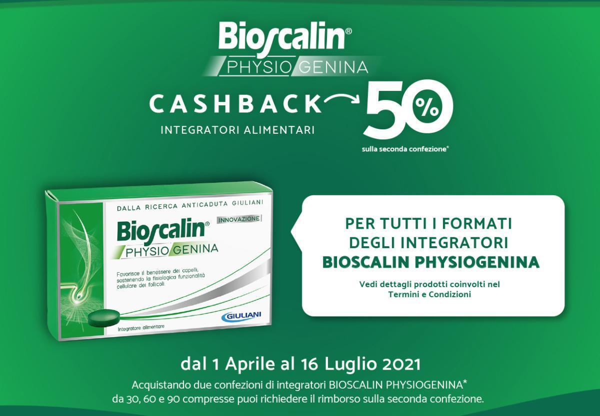 Bioscalin Cash Back