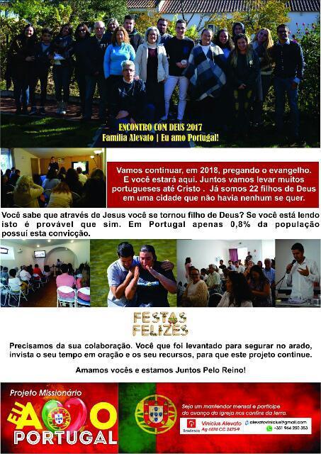 Missões Portugal - Vinícius e Lubia Alevato