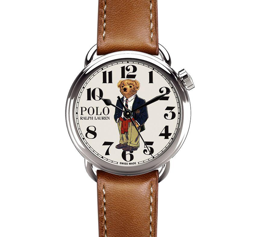 Ralph Lauren Polo Bear : so cool, so preppy !