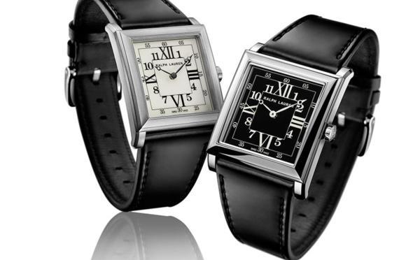 Ralph Lauren Stirrup Steel Link Petit modèle : belle montre