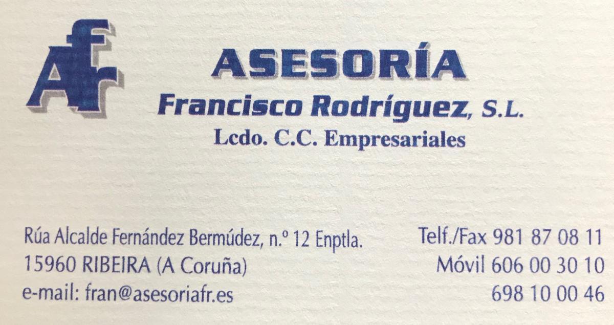 Asesoría Francisco Rodriguez
