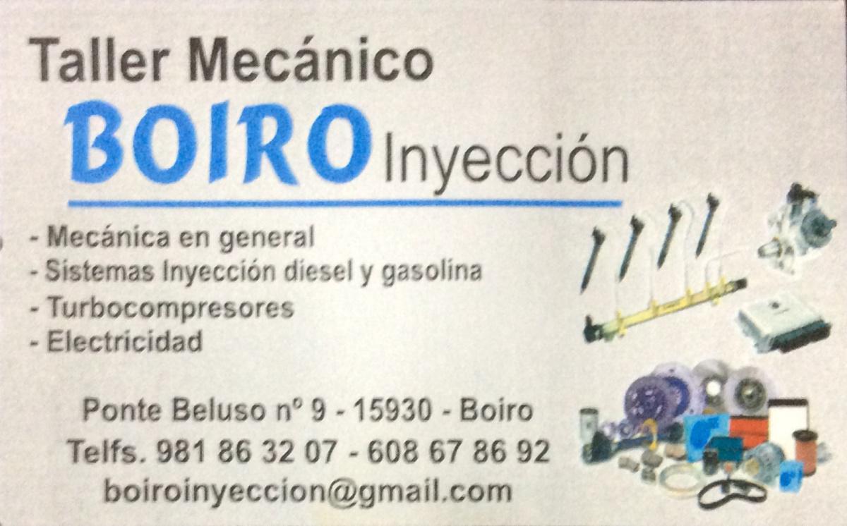 Boiro Inyección