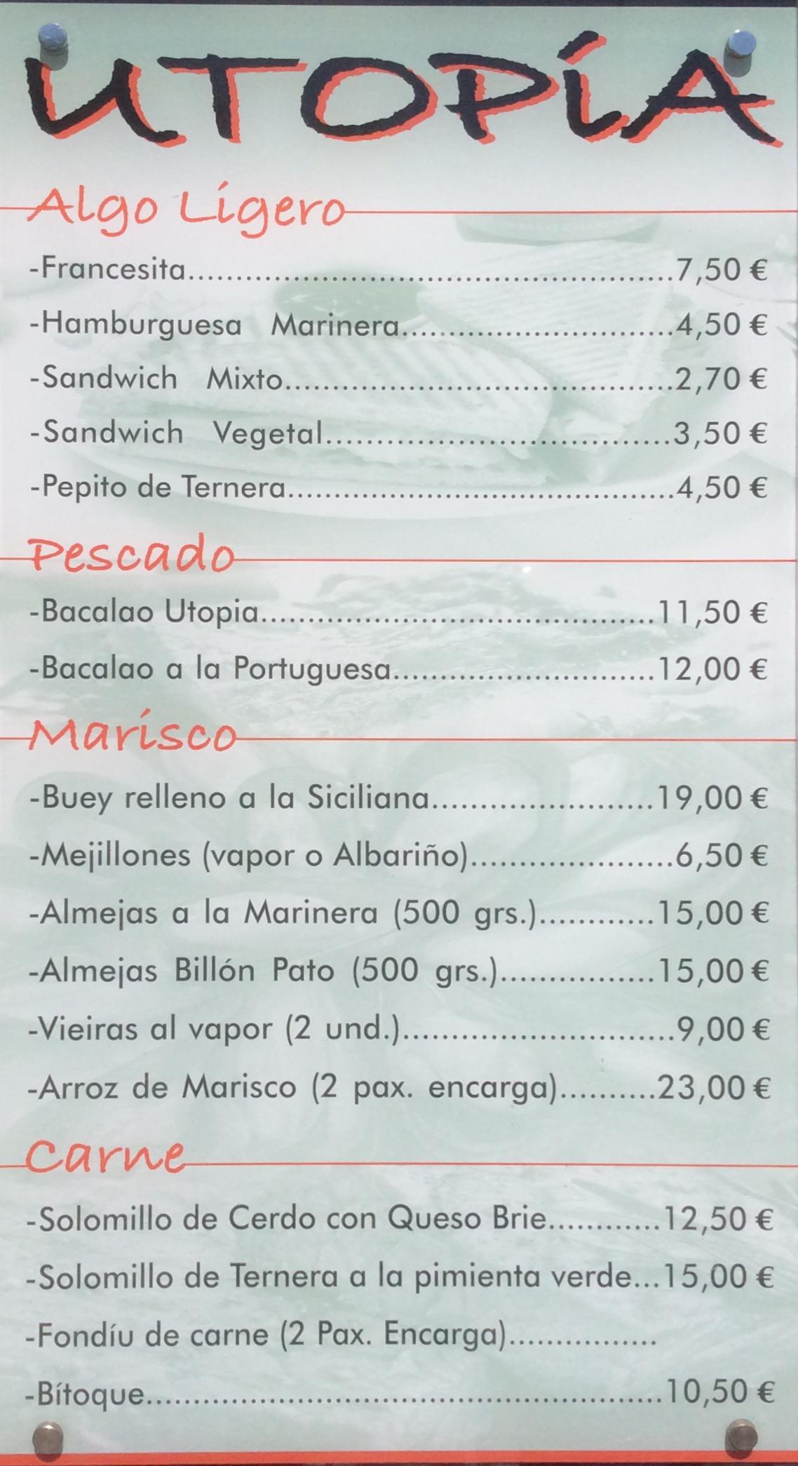 Restaurante Utopía