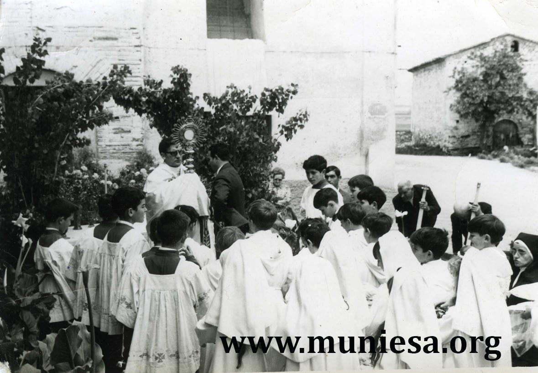MUNIESA. PROCESION DEL CORPUS Y FIESTA DE LA MINERVA, SUSPENDIDAS